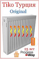 Радиатор стальной TiKO тип 22 500х2000 нижнее подключение (Турция)