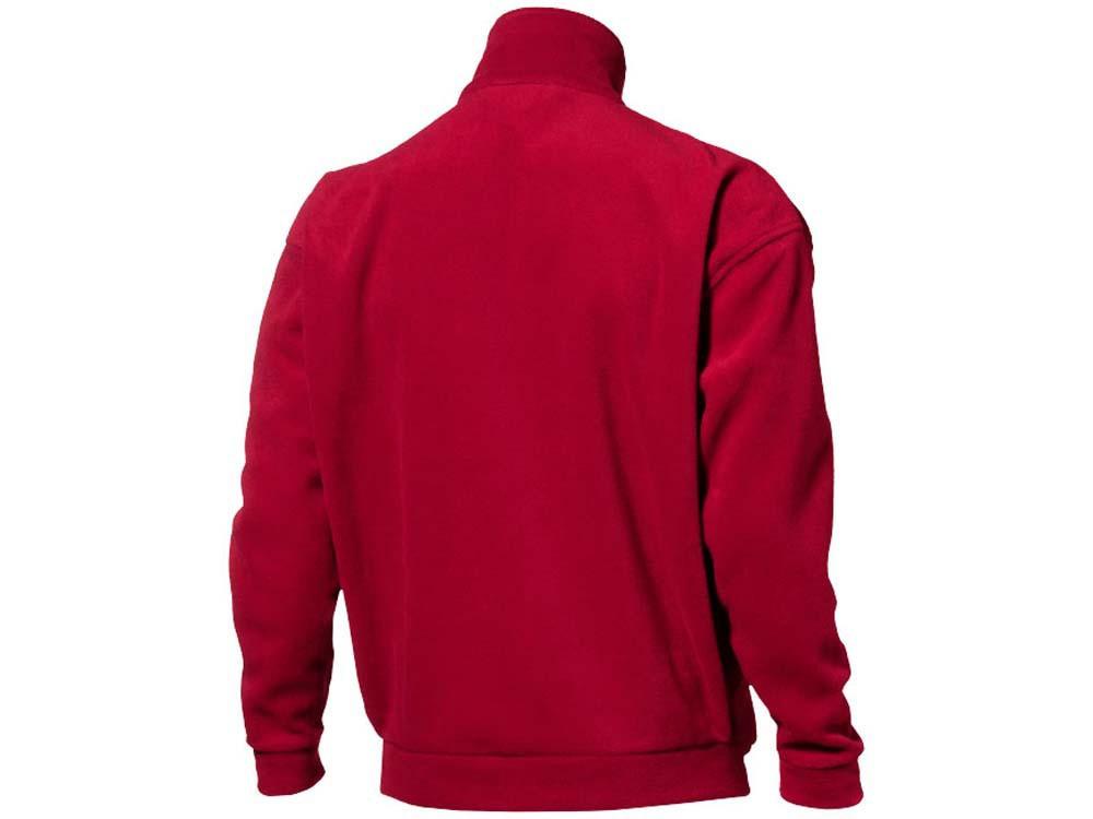 Купить Куртка флисовая Nashville мужская, красный/пепельно-серый