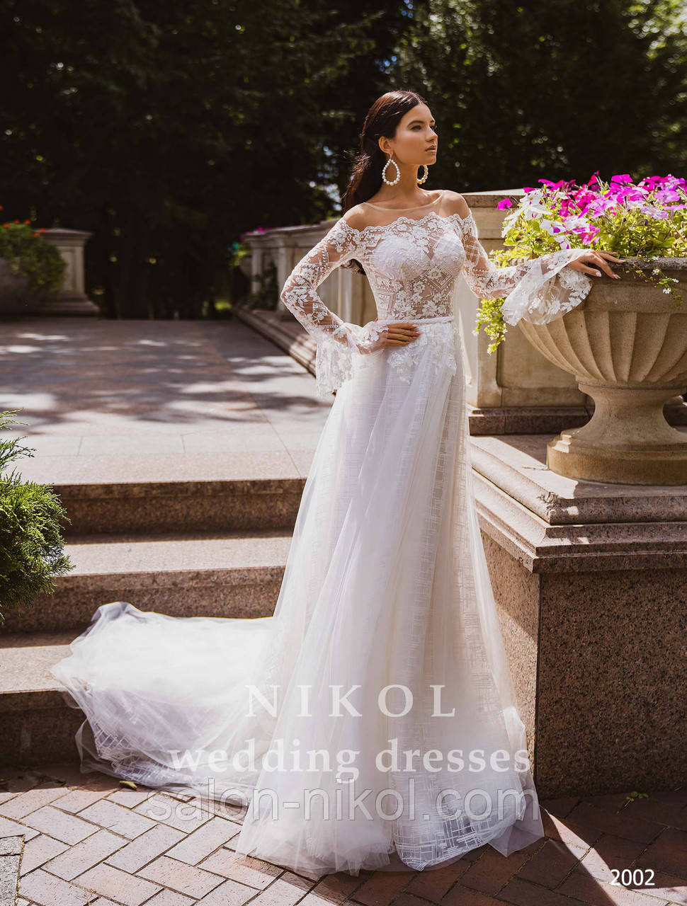 Свадебное платье № 2002