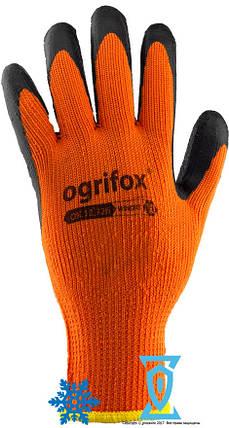 """Перчатки рабочие теплые покрытые гладким латексом """"WINORT"""" (Ogrifox), фото 2"""