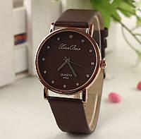 Женские коричневые часы на руку Женева