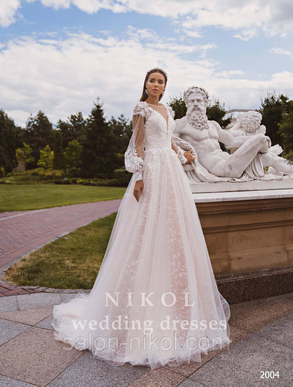 Свадебное платье № 2004