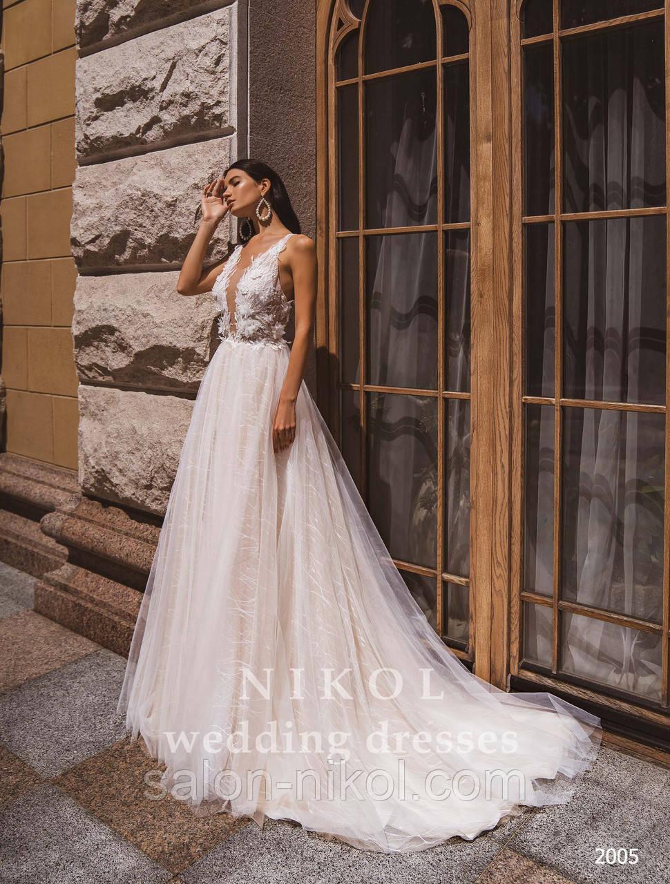 Свадебное платье № 2005
