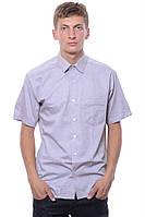 Хорошая рубашка с коротким рукавом серый Sakko