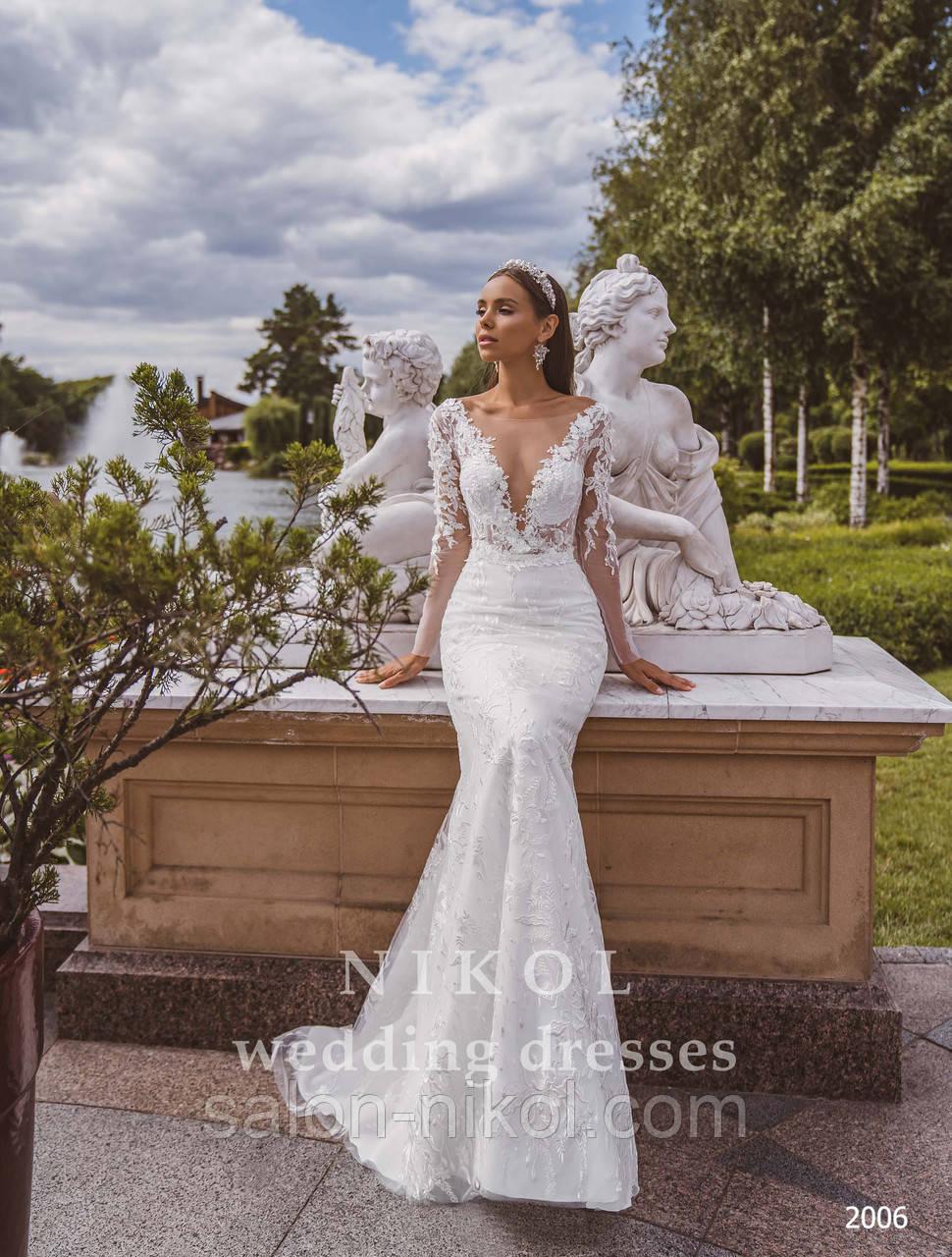 Свадебное платье № 2006