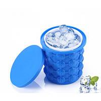Форма для льда Ice Cube Maker Genie силиконовая