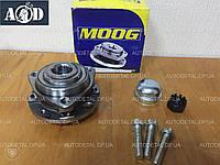 Подшипник передней ступицы Опель Астра G, без ABS, 4 отв. 1998-->2010 Moog (США) OP-WB-11088
