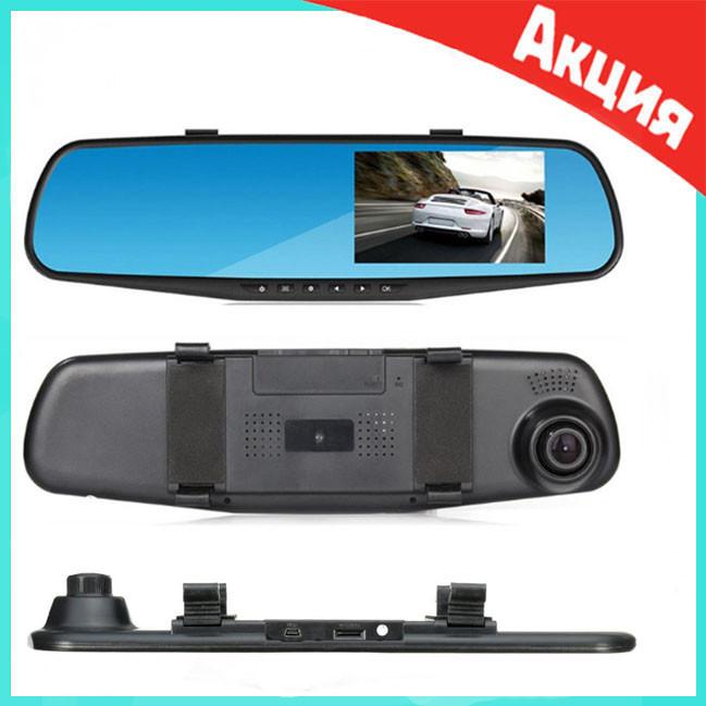 Автомобильный видеорегистратор зеркало DVR-138 с 1 камерой   видеорегистратор в машину