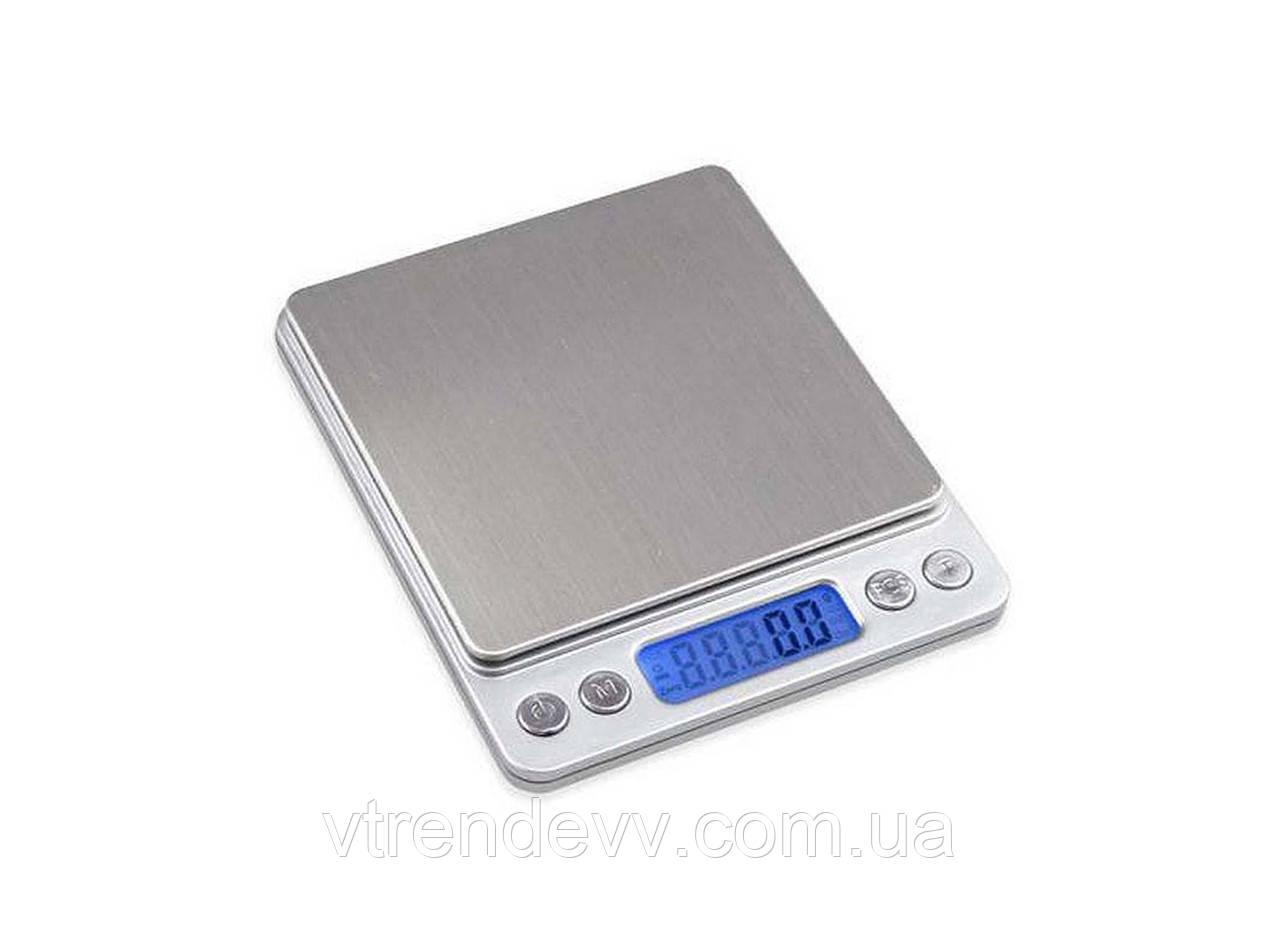 Весы ювелирные с двумя чашами до 2 кг