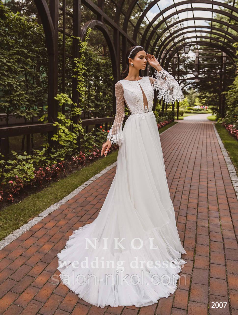 Свадебное платье № 2007