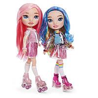 Игровой набор с куклой серии Poopsie Rainbow Girls Радужная или Розовая, фото 1
