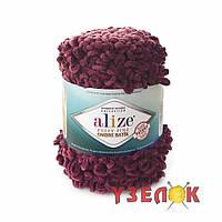 Alize Puffy Fine Ombre Batik №7276 вишневый