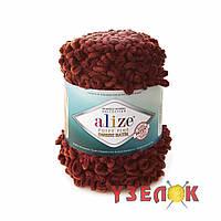 Alize Puffy Fine Ombre Batik №7300 бордовый
