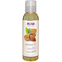 Масло сладкого миндаля, Sweet Almond Oil от Now Foods, 118 мл