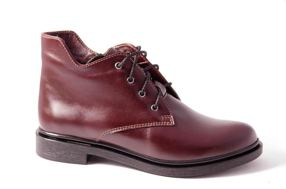 Ботинки женские бордовые Romani 8330330/2 р.36-41