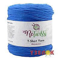 T-Shirt Yarn трикотаж (цвет: сапфир)
