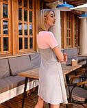 Платье «Трапеция» лето, комбинированные цвета, фото 2