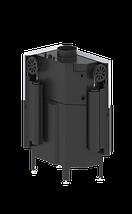 Камінна топка HITZE Aquasystem 68x43 R. G гільйотина, фото 3