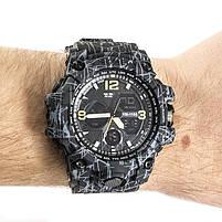 Часы спортивные Skmei 1155B Black-Gray Camo, фото 2