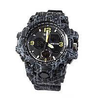 Часы спортивные Skmei 1155B Black-Gray Camo, фото 3