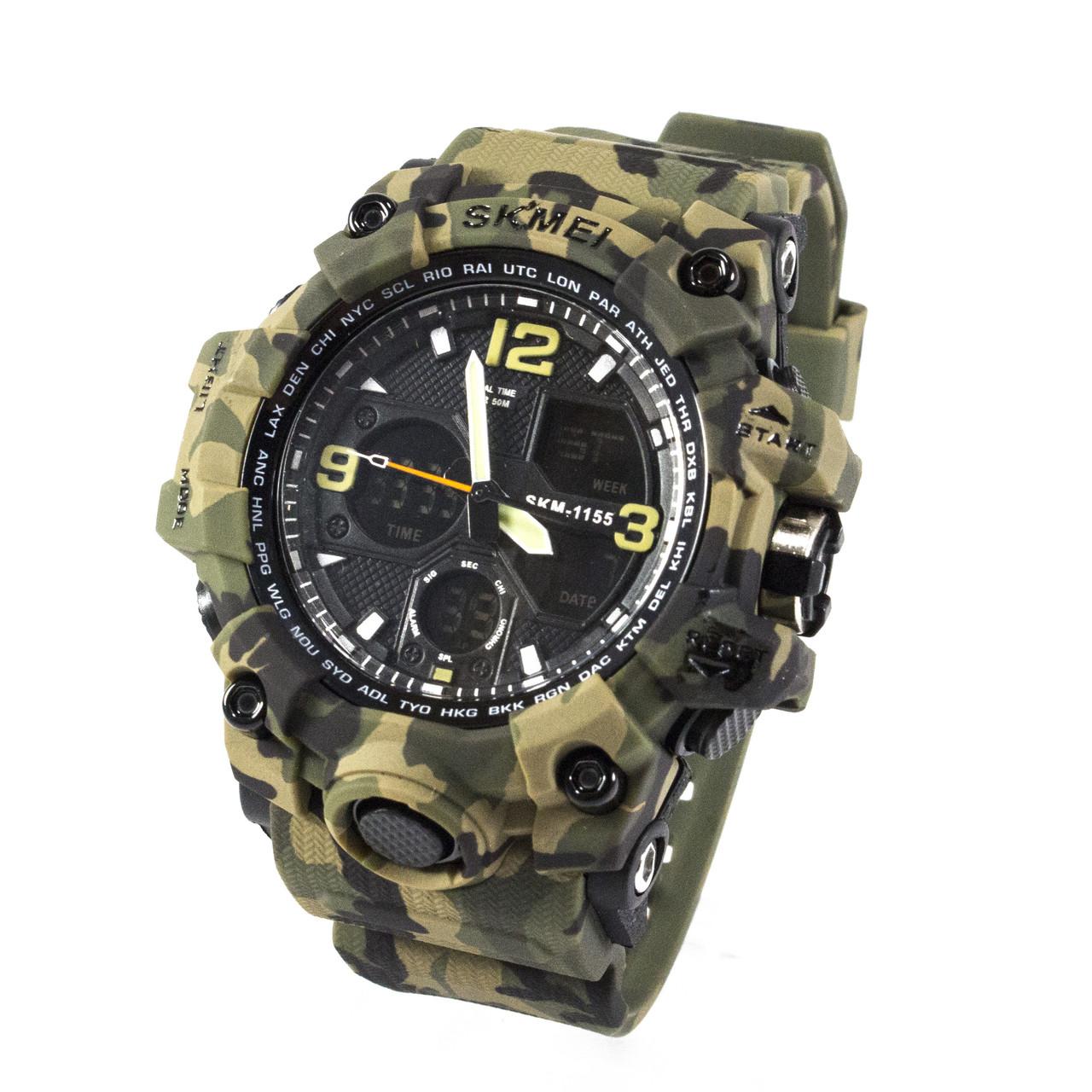 Часы спортивные Skmei 1155B Green Camo