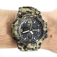 Часы спортивные Skmei 1155B Green Camo, фото 2