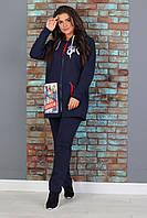 Р-р 48-56, Батал женский  костюм трикотажный, большой размер, спортивный