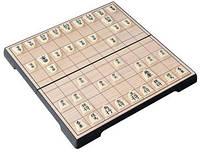 Игра Сёги (сеги, шоги), японские шахматы, складной магнитный комплект, 24 х 12 х 4 см.