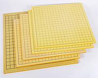 Нескладные доски для Го 19 + 13 или + сянцы. Разная толщина, 47 х 44. Толщина 0,3 см. 0,8 см. 1,5 см.