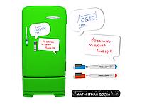 Магнитная доска на холодильник для маркера Чат 30х17 см (188-10822609)
