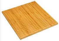 Доска для Го бамбуковая 19 + 13 двухсторонняя, 47 х 44 х 2 см.