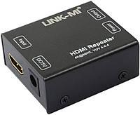 LINK-MI HDMI усилитель репитер сигнала 4Kx2K 2.0 1080P, 60HZ 18Gbs Repeater