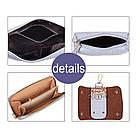 Набор женских сумок Mei&Ge 6 предметов чёрного цвета 01183, фото 2