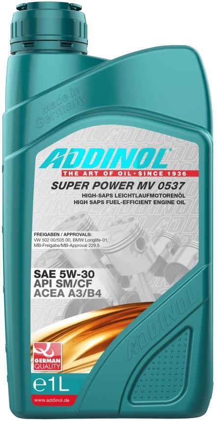 Масло ADDINOL Super Power MV 0537 5w30 1л