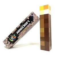 LED детский ночник (светильник) ФАКЕЛ из Minecraft | Майнкрафт