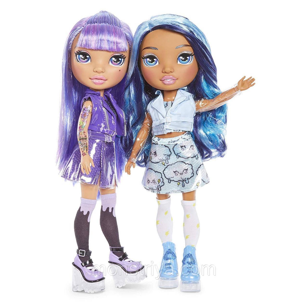 Игровой набор с куклой серии «Poopsie Rainbow Girls» – ФИОЛЕТОВАЯ ИЛИ ГОЛУБАЯ