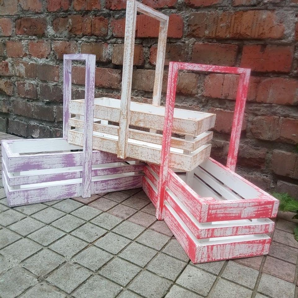 Ящики декоративные