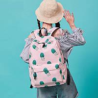 Школьный рюкзак с кактусами