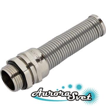 SKINTOP® BS-M METAL / SKINTOP® BSR-M METAL M12x1.5, кабельный сальник с защитой от перегибов