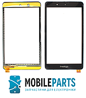 Сенсор (Тачскрин) для планшета Prestigio PMT5008 3G | PMT5018 3G MultiPad (209*120) (Черный) Ориг