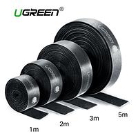 Стяжка на липучке для кабелей фирмы Ugreen 1м.