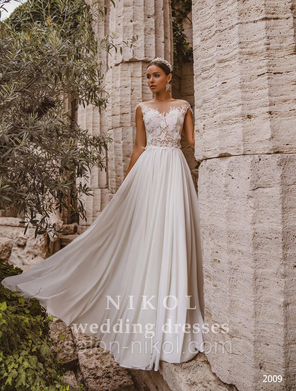 Свадебное платье № 2009