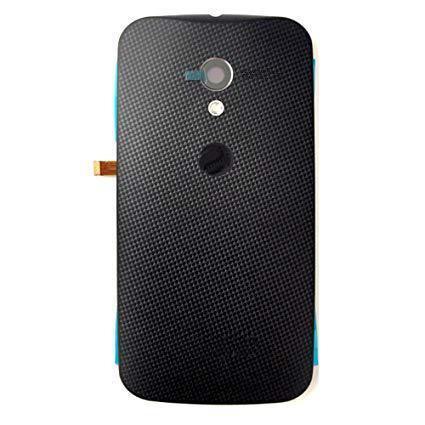 Задняя крышка Motorola XT1053 Moto X/XT1055/XT1056/XT1058/XT1060, черная, Оригинал