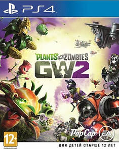 Диск PlayStation 4 Plants vs. Zombies: Garden Warfare 2 (Хіти PlayStation)