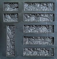 "Форма для декоративного камня и плитки ""Рваный кирпич"", 21 шт. в комплекте, фото 5"