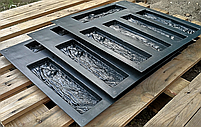 """Форма для декоративного камня и плитки """"Древесный скол"""", 15 плиток в комплекте, фото 2"""