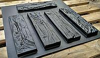 """Форма для декоративного камня и плитки """"Древесный скол"""", 15 плиток в комплекте, фото 6"""