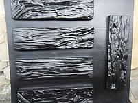 """Форма для декоративного камня и плитки """"Древесный скол"""", 15 плиток в комплекте, фото 7"""
