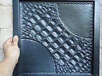 """Формы для 3d панелей """"Аллигатор"""" 40*40 (форма для 3д панелей из абс пластика), фото 8"""