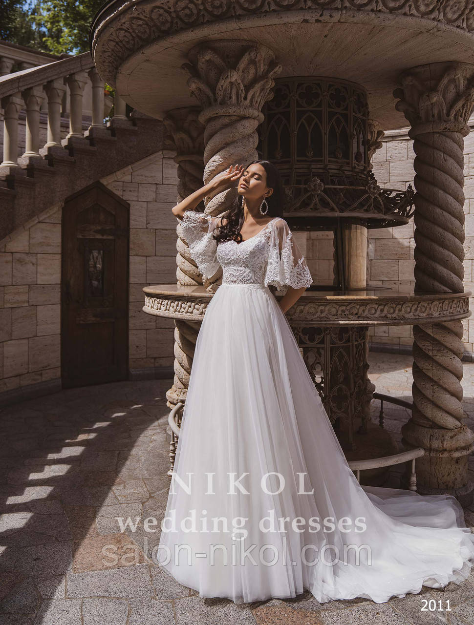Свадебное платье № 2011